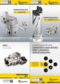 New Kennametal catalogs for 2017